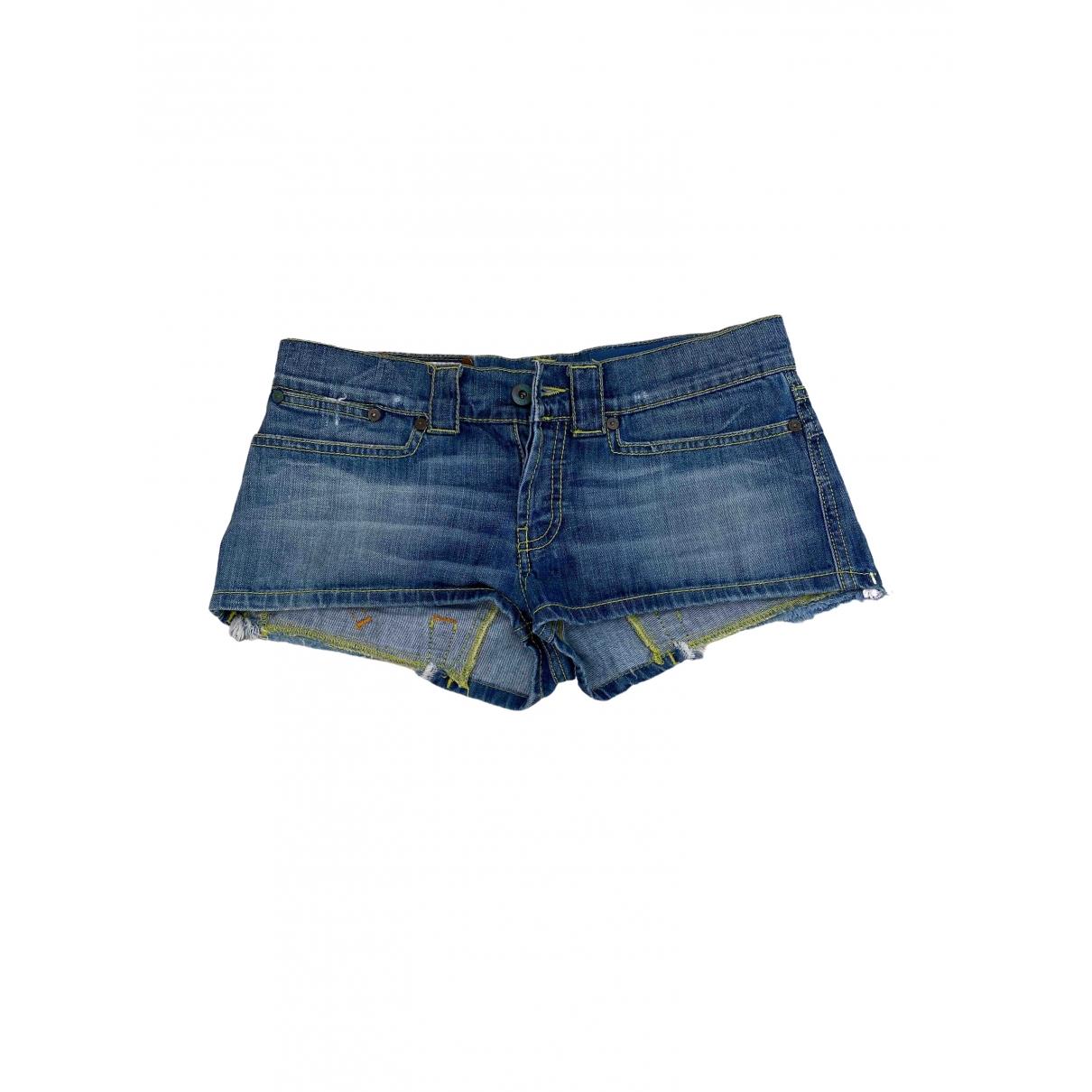Dondup \N Blue Denim - Jeans Shorts for Women 40 IT