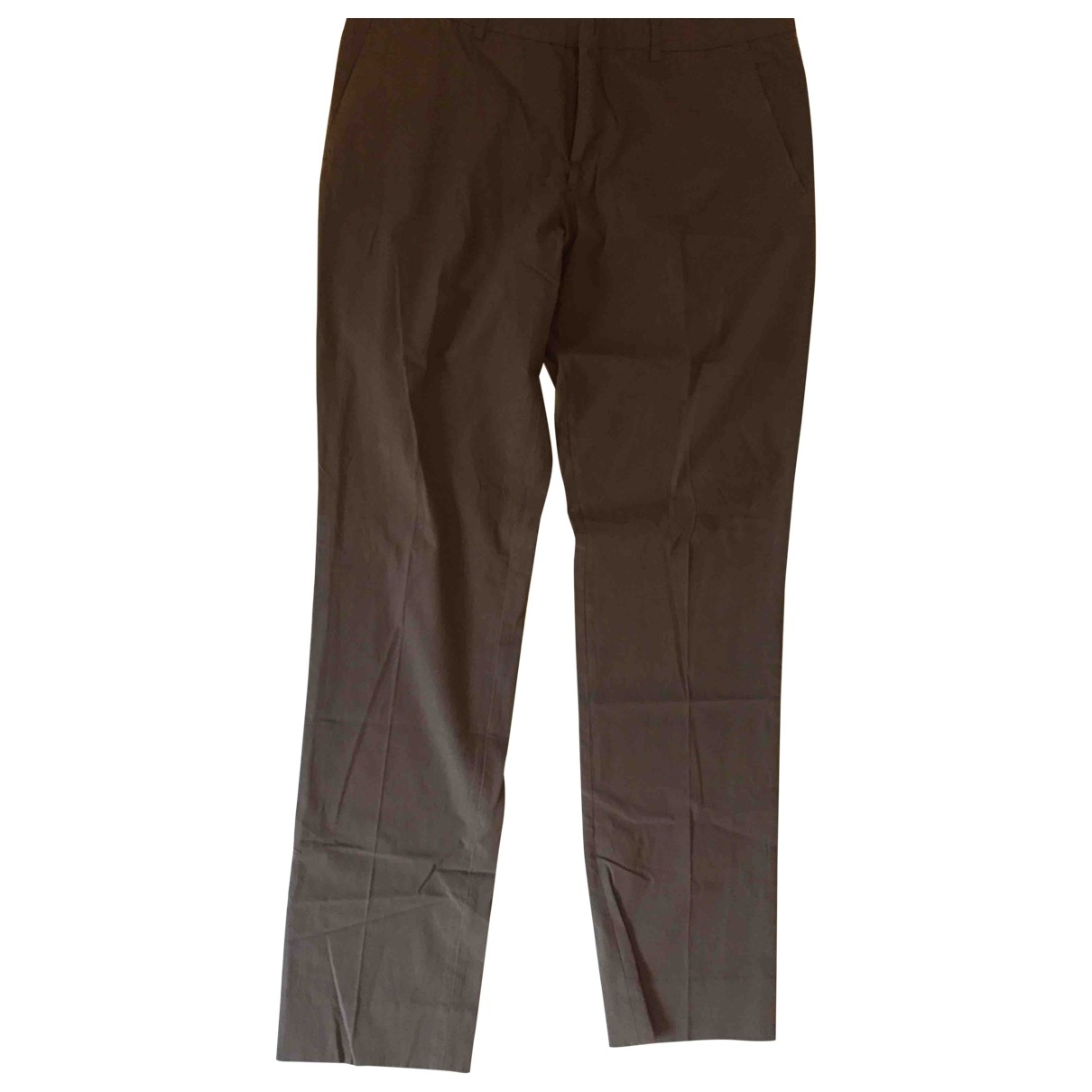 J.lindeberg \N Brown Cotton Trousers for Men 52 IT