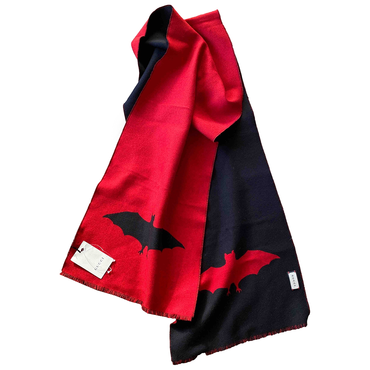 Gucci \N Red Wool scarf & pocket squares for Men \N