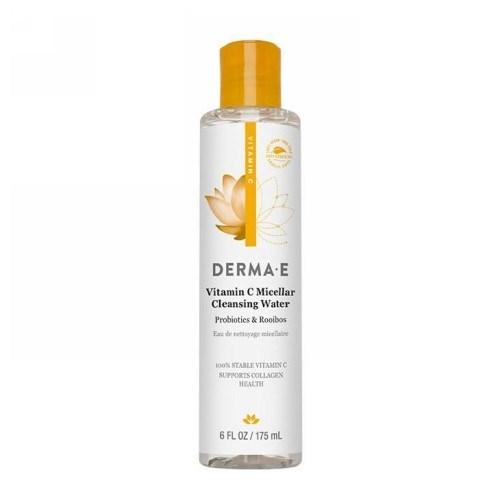 Vitamin C Micellar Cleansing Water 6 Oz by Derma e