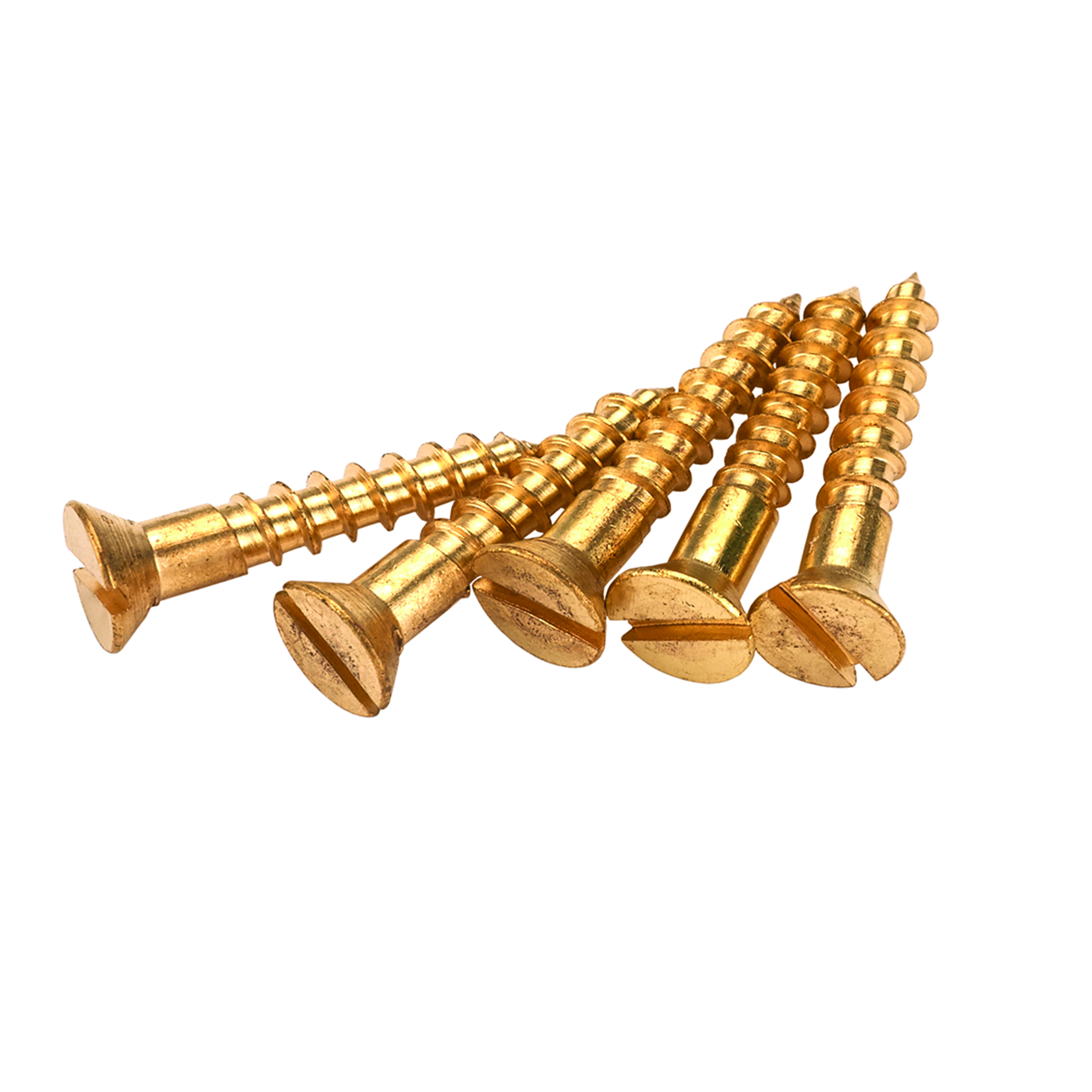 Solid Brass Screws #6 x 3/4
