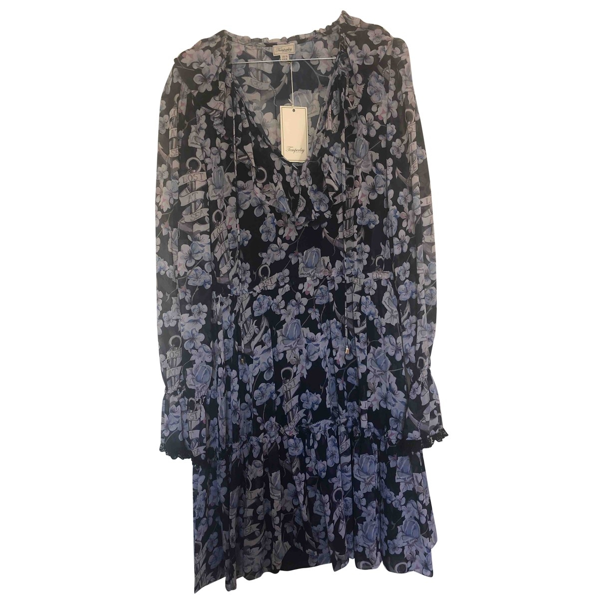 Temperley London \N Navy dress for Women 12 UK