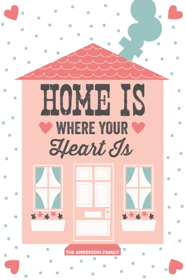 Everyday 20x30 Poster(s), Board, Home Décor -Heart House