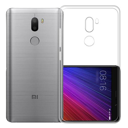 Silicon Back Cover High Quality Protective Soft Case Phone Shell For Xiaomi Mi 5S Plus - Transparent