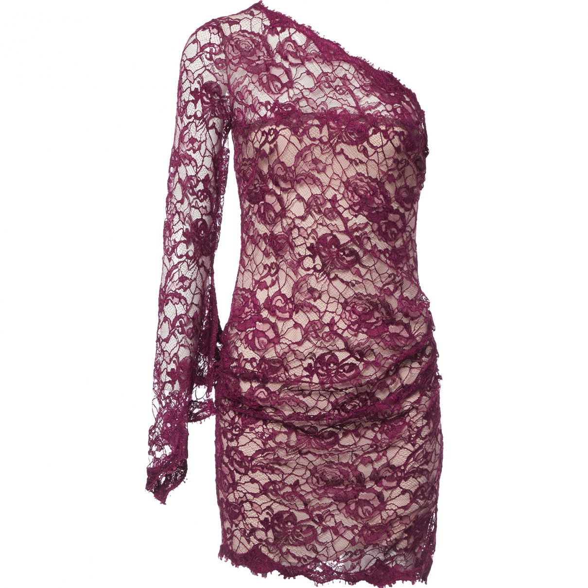 Emilio Pucci \N Purple Lace dress for Women 40 IT