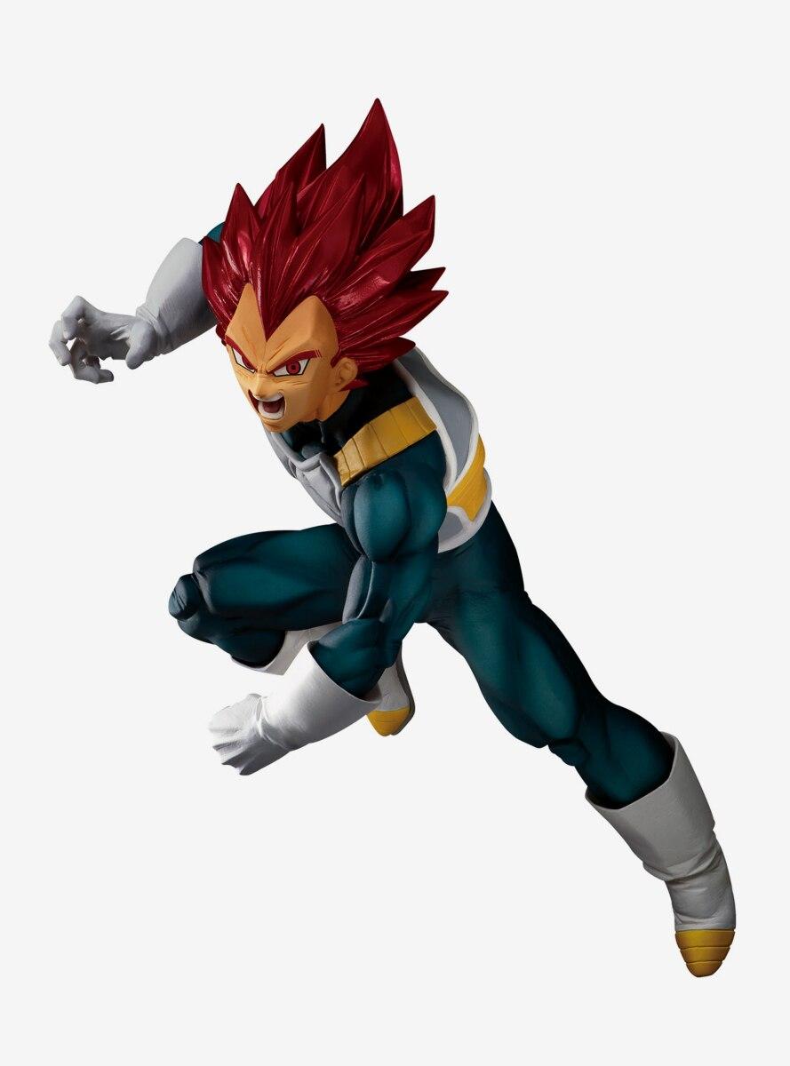 Banpresto Dragon Ball Super Super Saiyan God Vegeta Blood of Saiyans Special VII Collectible Figure
