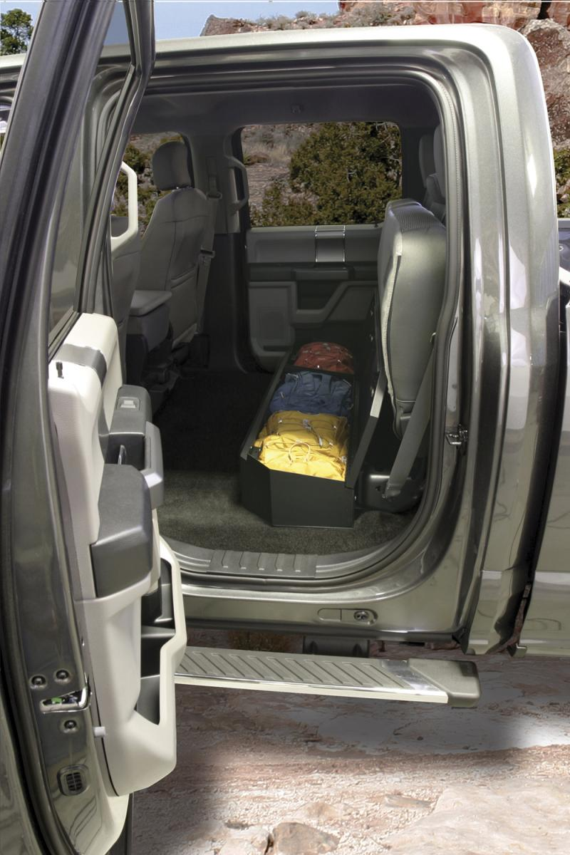 Tuffy Security 316-01 Underseat Lockbox Ford