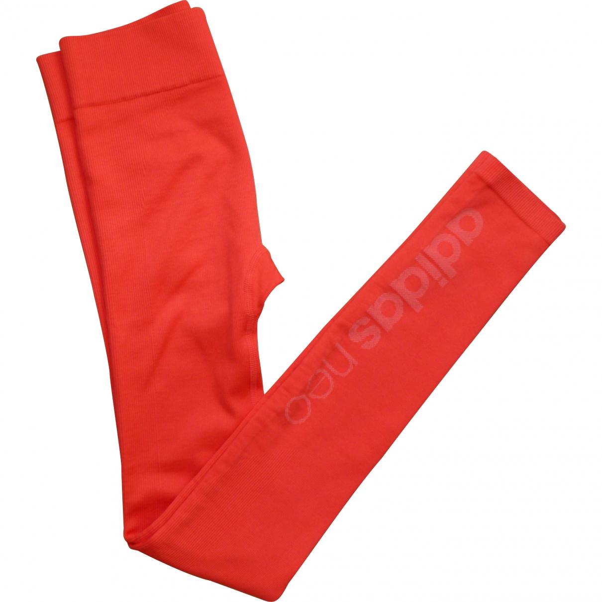 Adidas \N Pink Polyamide Trousers for Women \N