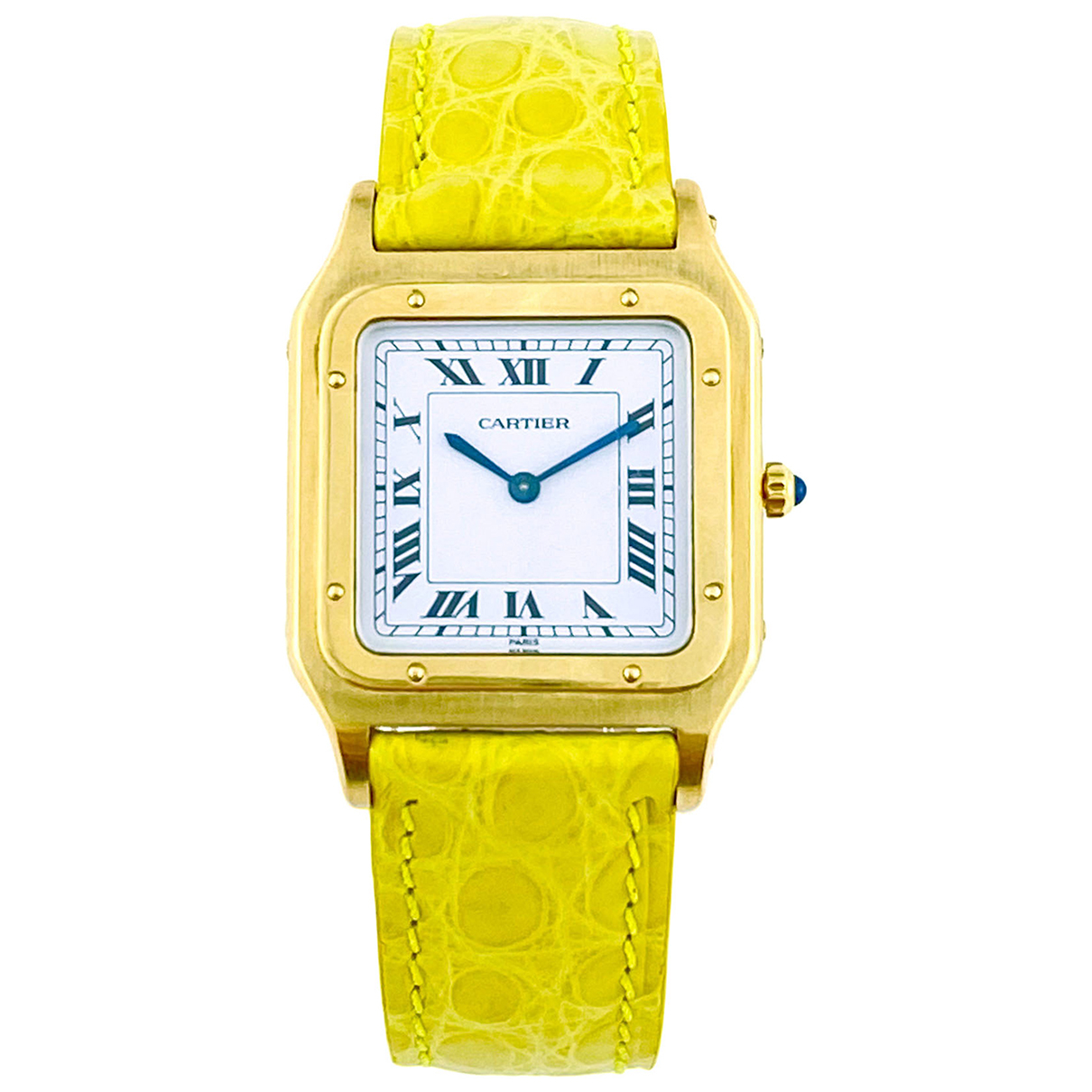 Cartier Santos Dumont  Gold Yellow gold watch for Men \N
