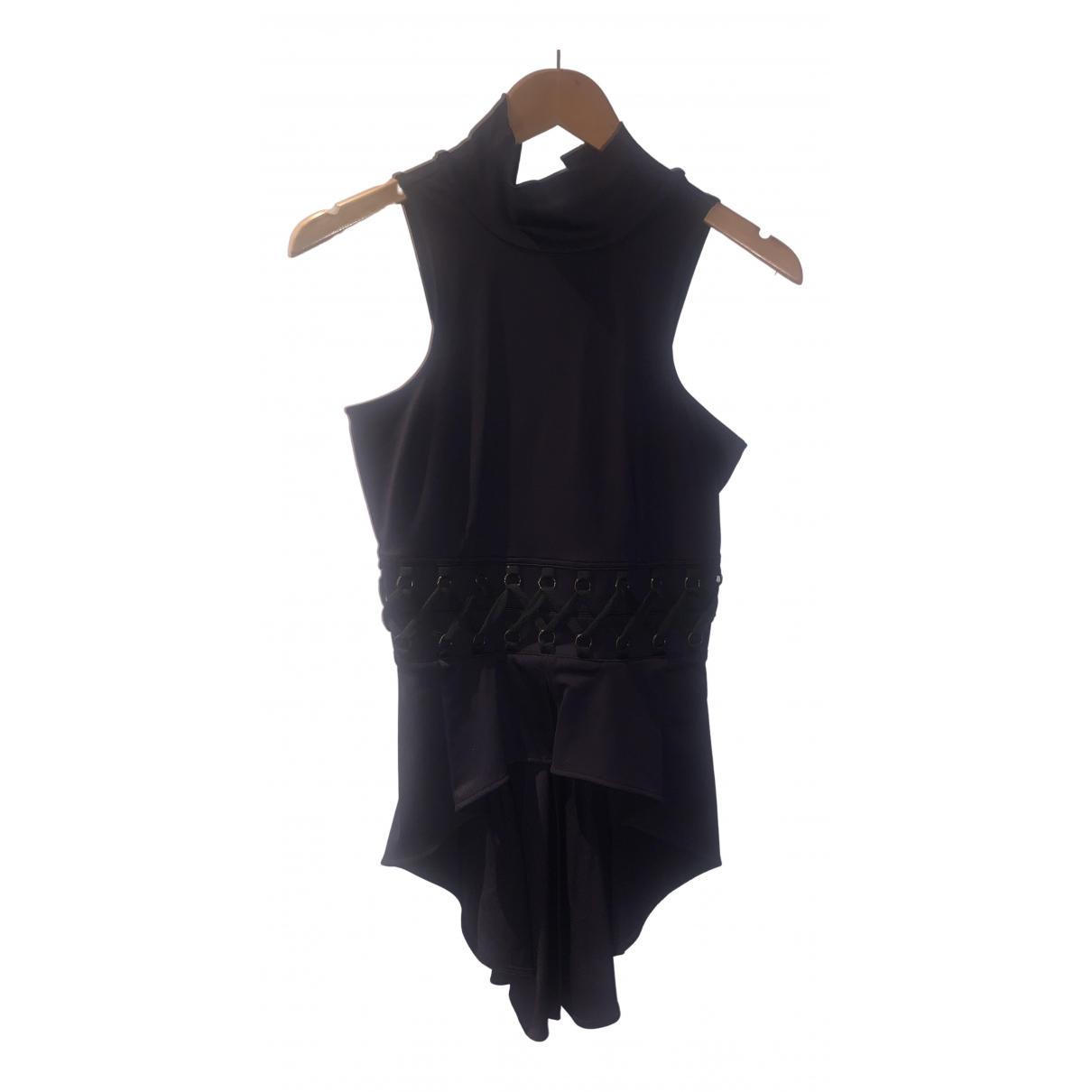 Elisabetta Franchi \N Black  top for Women 40 IT