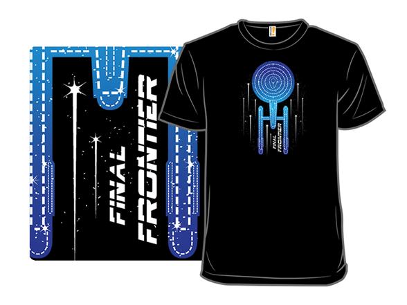 The Final Frontier T Shirt