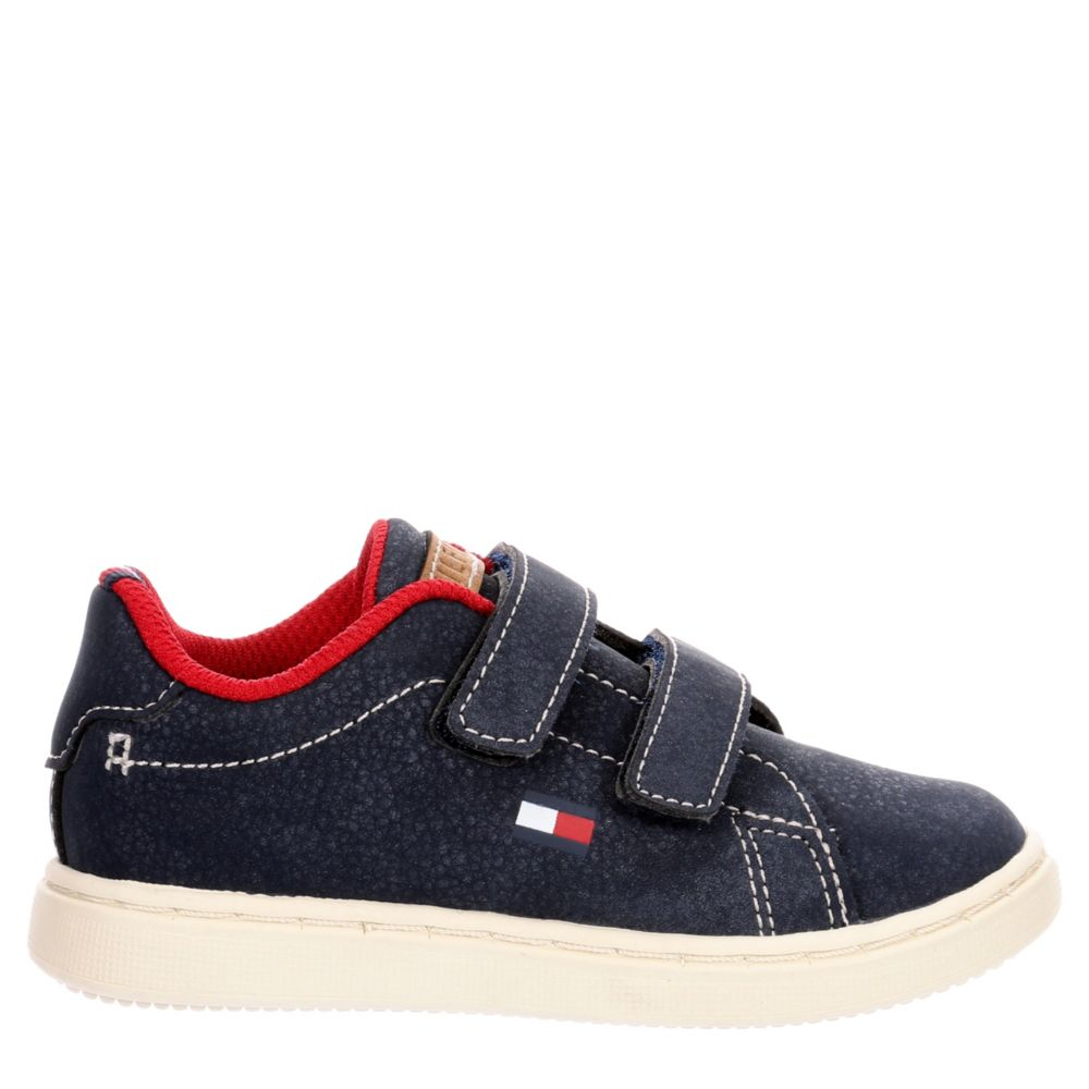 Tommy Hilfiger Boys Infant Iconic Court Velcro Shoes Sneakers