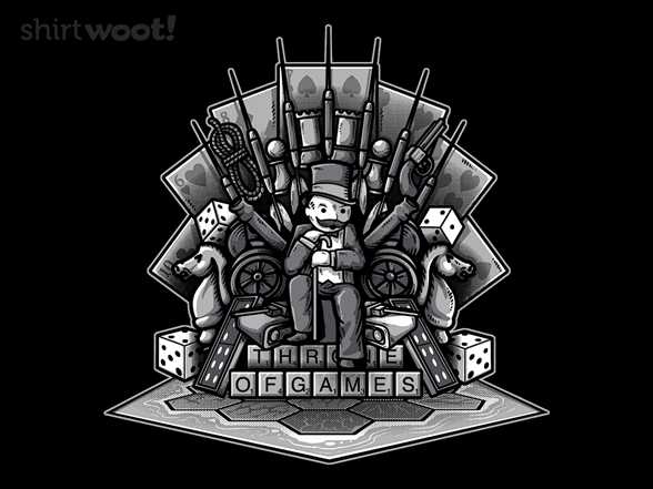 Throne Of Games T Shirt