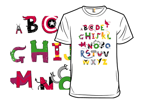 Marvelous Alphabet T Shirt