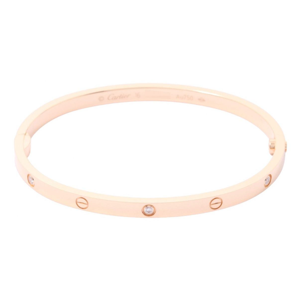 Cartier Love Pink Pink gold bracelet for Women \N