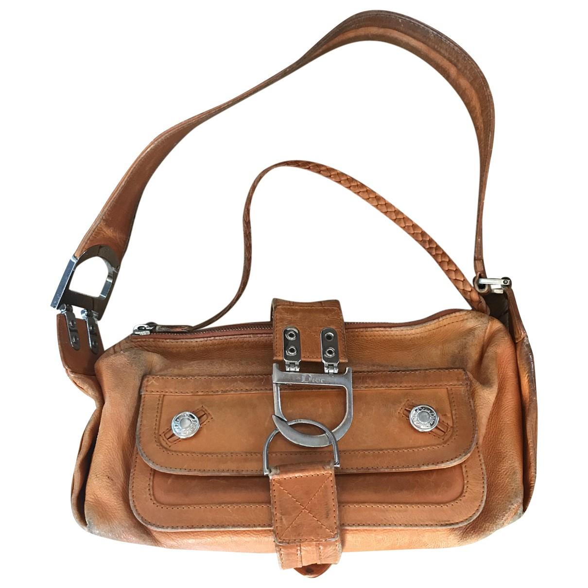 Dior \N Camel Leather handbag for Women \N