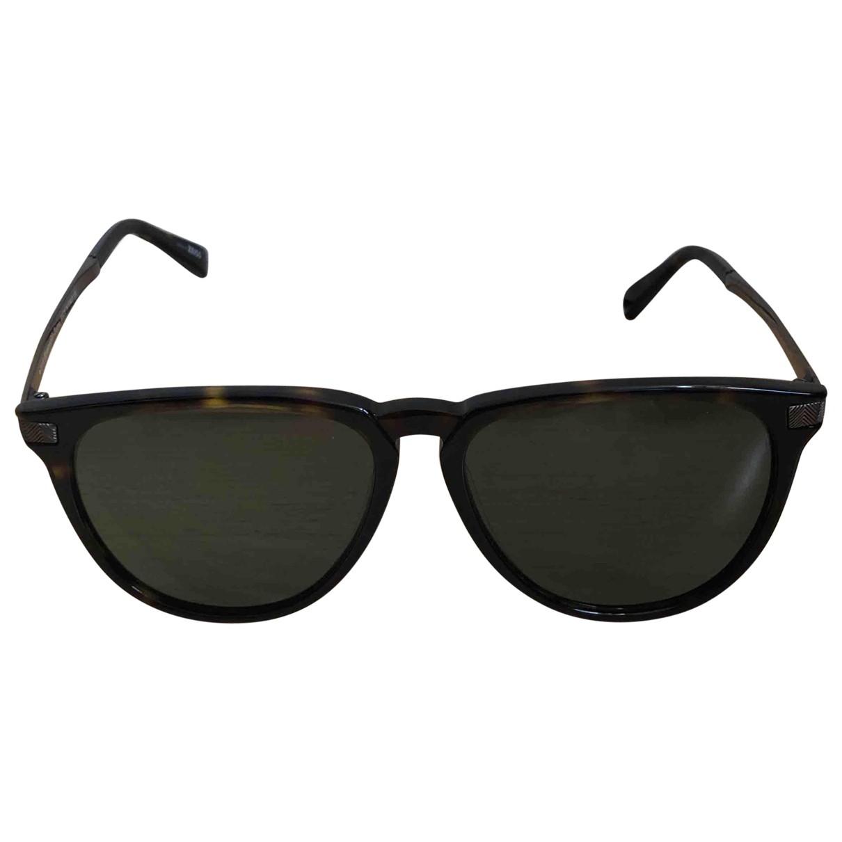 Ermenegildo Zegna \N Brown Sunglasses for Men \N