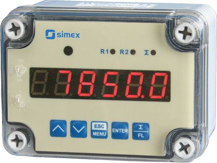 Simex Flow Counter Flow Meter, SPI Series