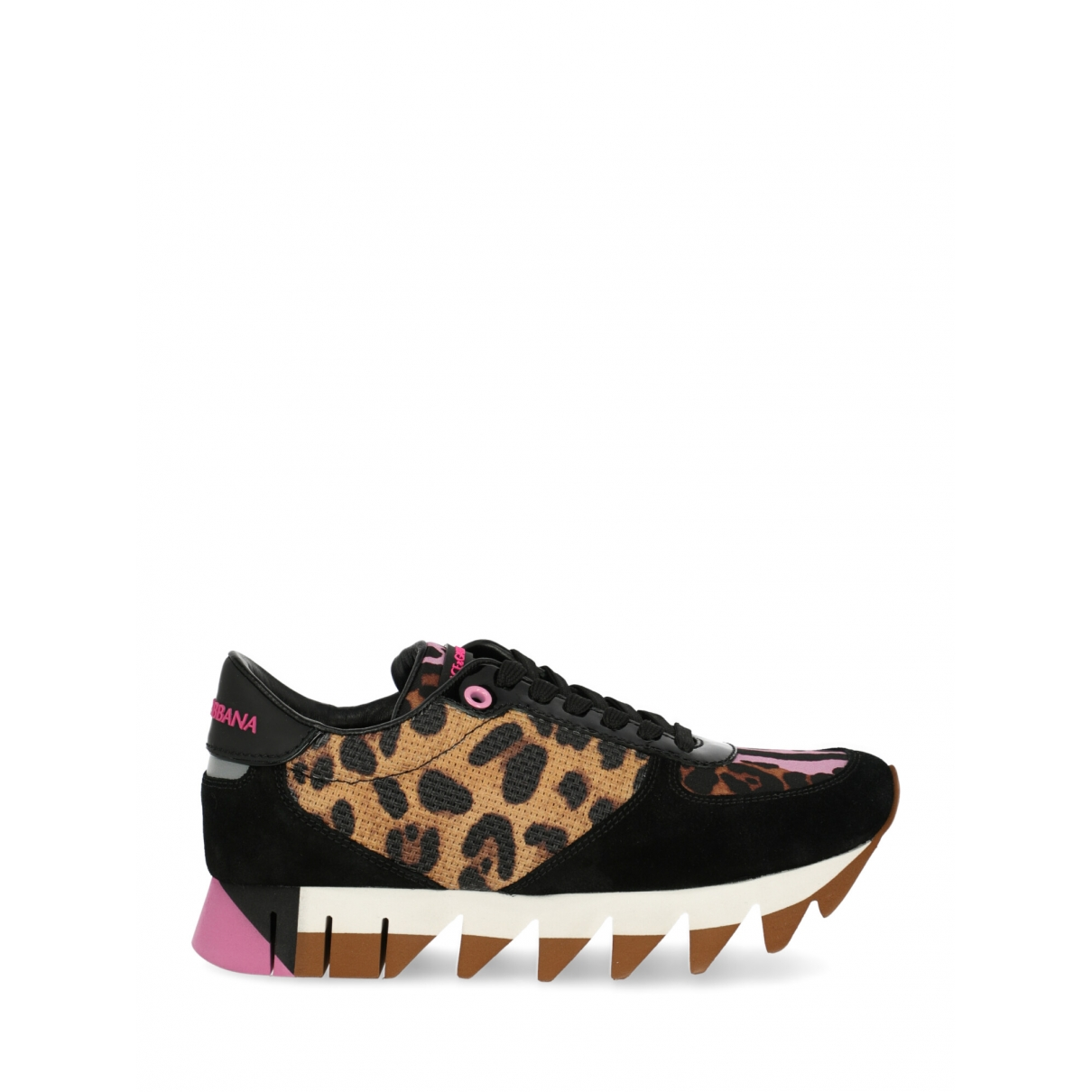 Dolce & Gabbana \N Black Cloth Trainers for Women 35.5 IT