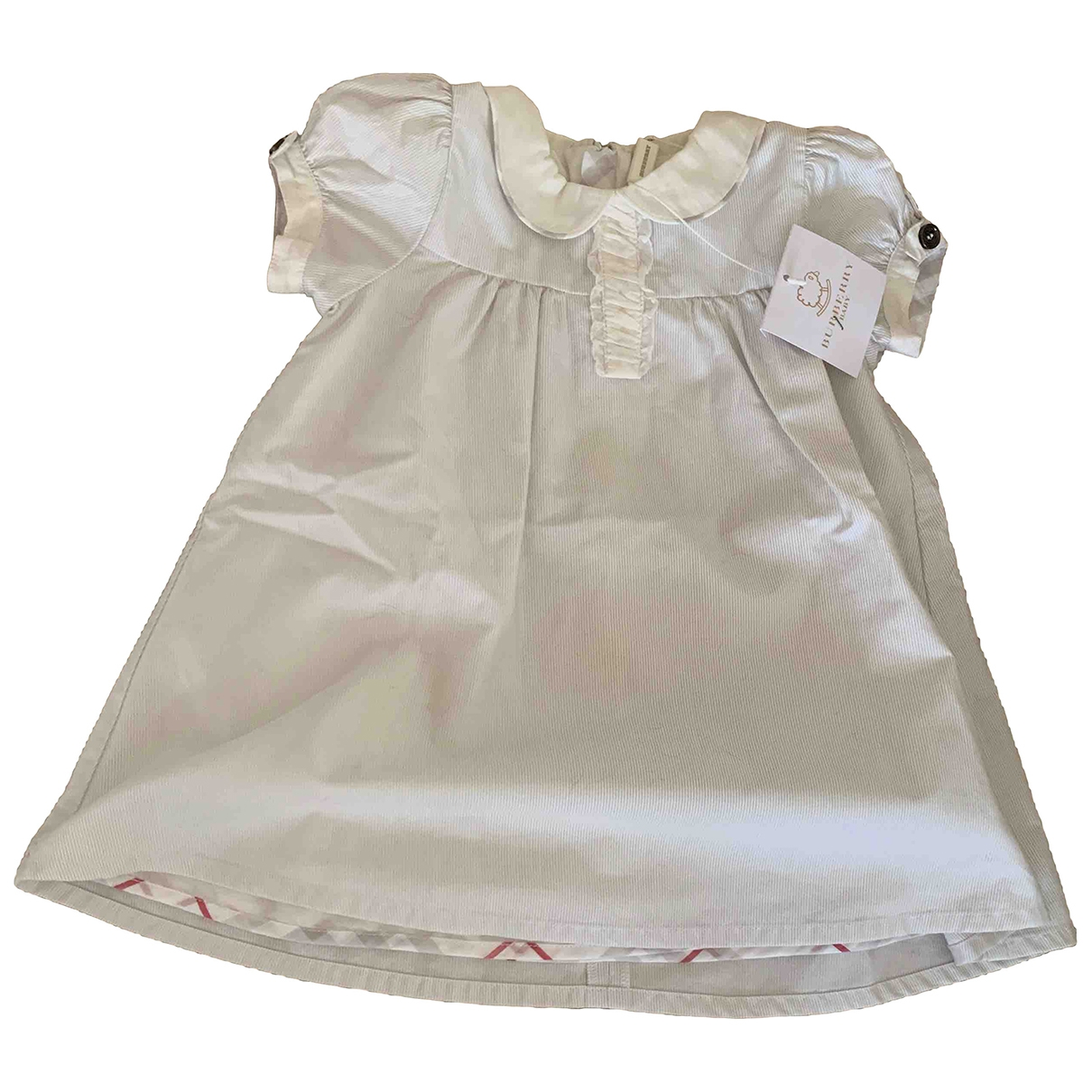 Burberry \N White Cotton dress for Kids 6 months - up to 67cm FR