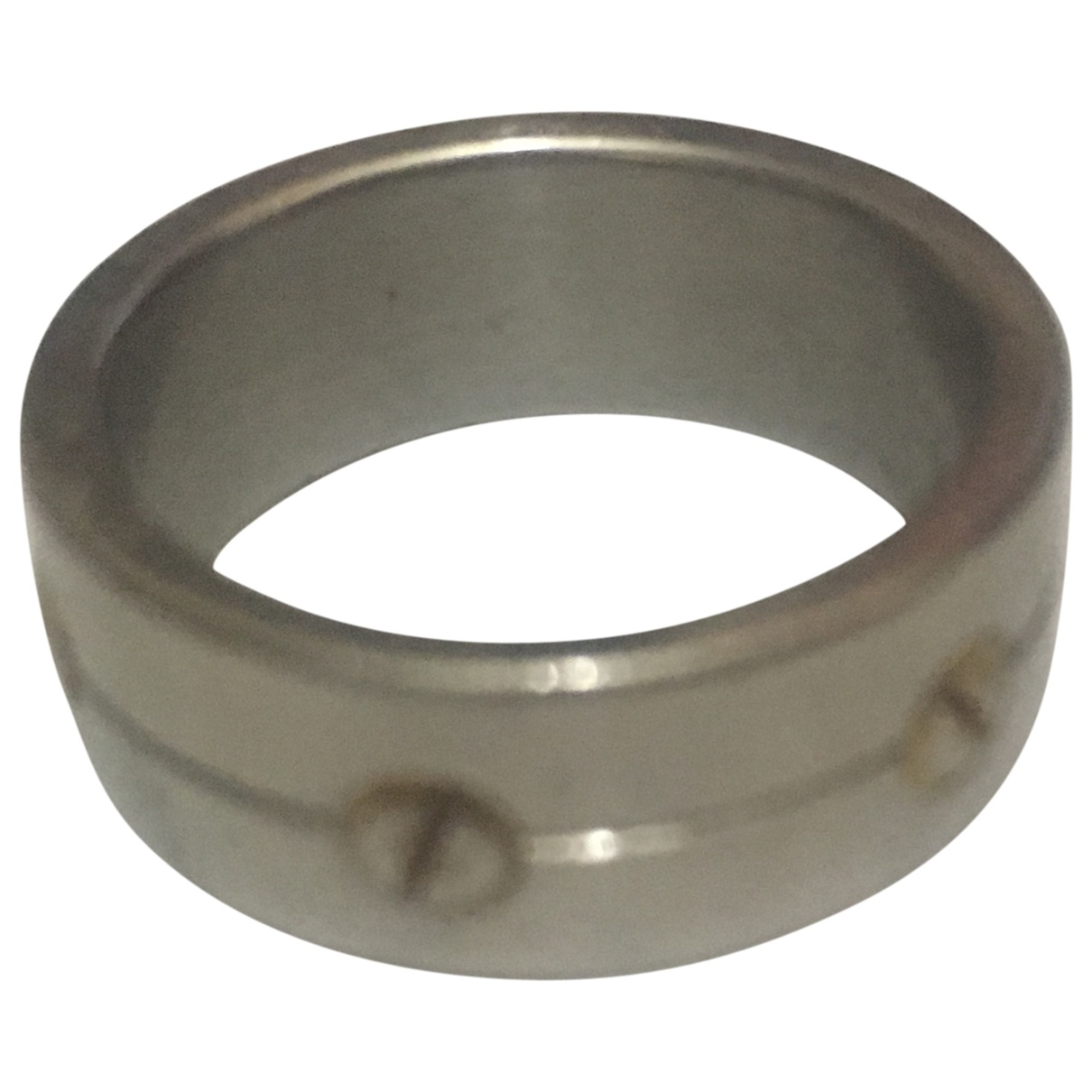 Non Signé / Unsigned Alliance Silver Metal ring for Women \N