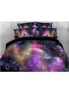 Colorful Dreamy Galaxy Printing 3D 5-Piece Comforter Sets