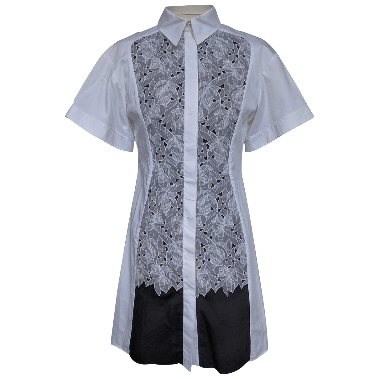 Peter Pilotto \N White Cotton dress for Women 10 UK