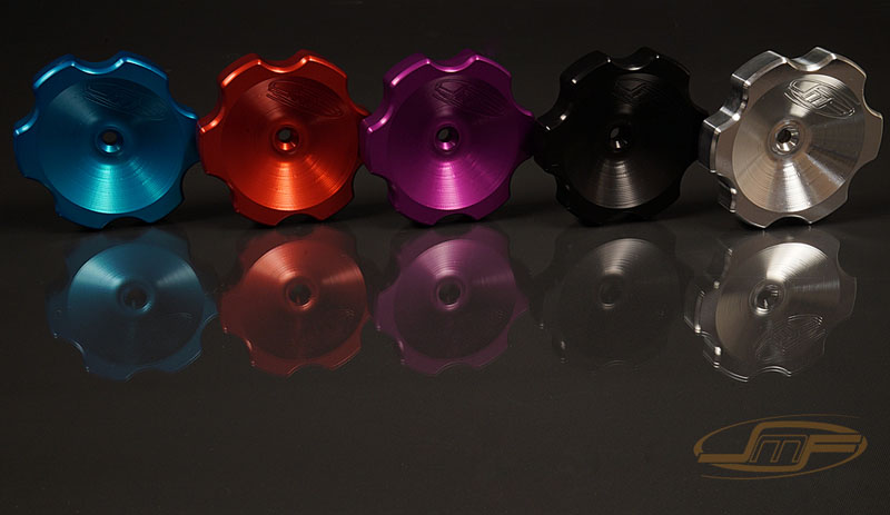 JM Fabrications 4G63-OILCAP-04 4G63 billet aluminum oil cap anodized red