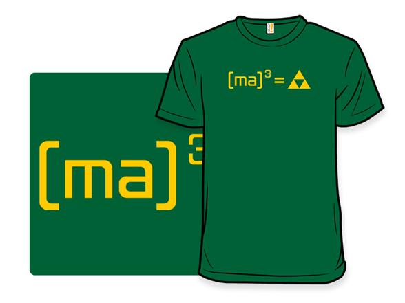 Forced Math T Shirt