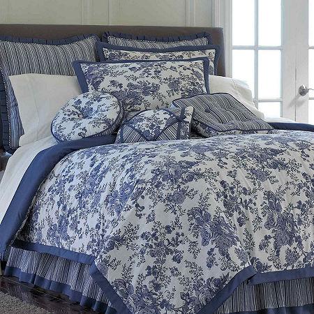 Toile Garden Comforter Set, One Size , Multiple Colors