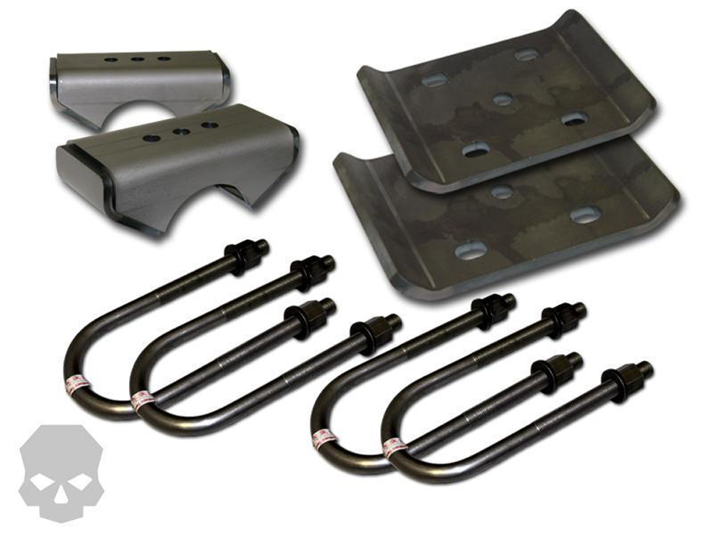 Leaf Spring Conversion Kit 2.5 Inch Spring Width 4 inch Tube Diameter Ballistic Fabrication KIT-2301-17