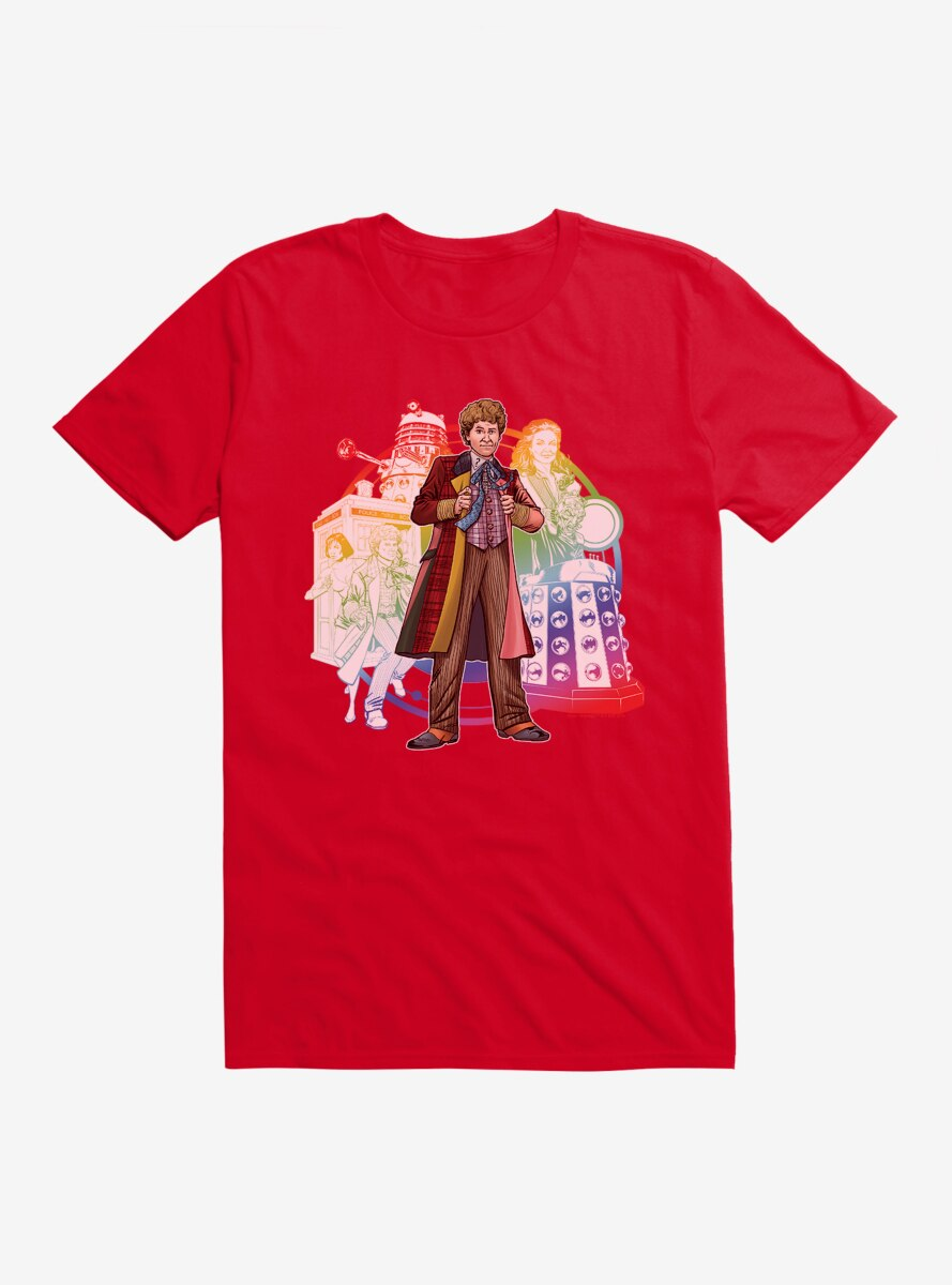 Doctor Who The Sixth Doctor T-Shirt