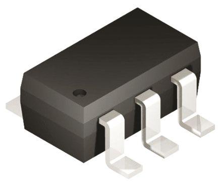 Microchip 93LC56BT-E/OT, 2kbit EEPROM Memory, 400ns 6-Pin SOT-23 Serial-Microwire (20)
