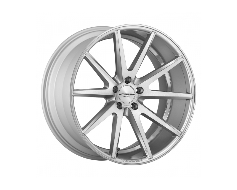 Vossen VFS1-9M40 VFS1 Silver with Polished Face Flow Formed Wheel 19x8.5 5x112 30mm