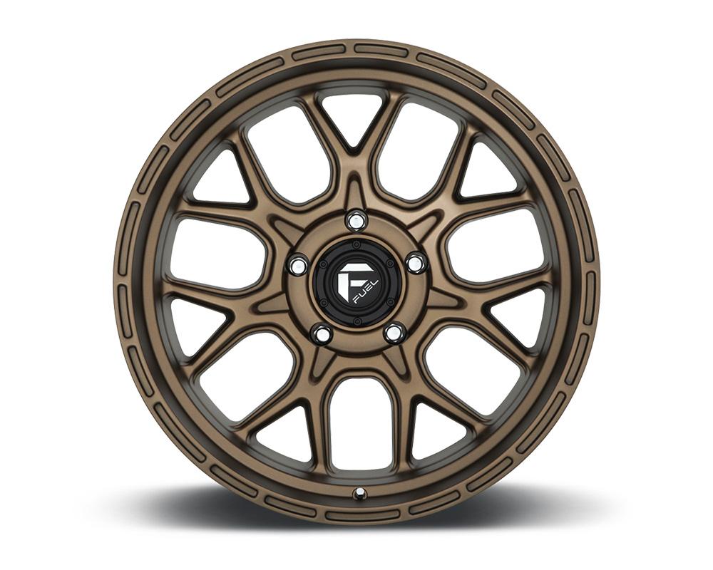 Fuel D671 Tech Bronze 1-Piece Cast Wheel 20x10 5x139.7 -18mm