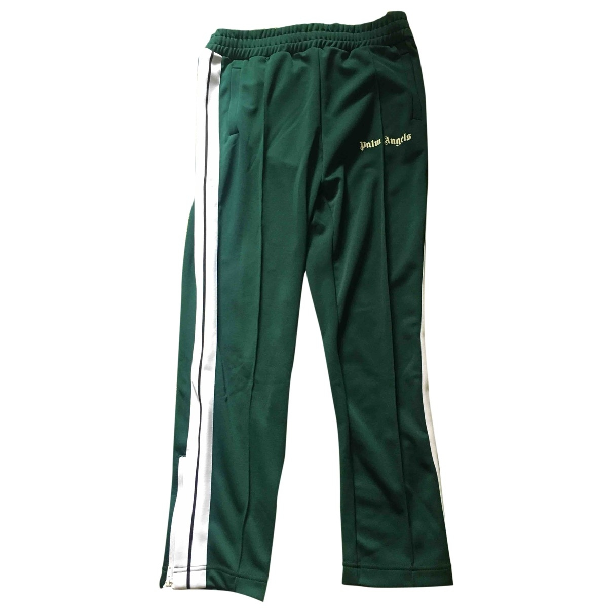 Palm Angels \N Green Trousers for Men XXL International