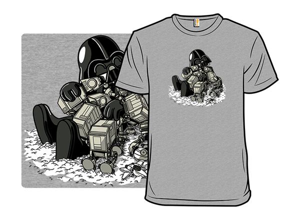 Walker Pups Remix T Shirt