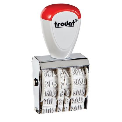 Trodat@ Manual Date Stamp, 12-year date band, French - 4mm(#1-1/2)