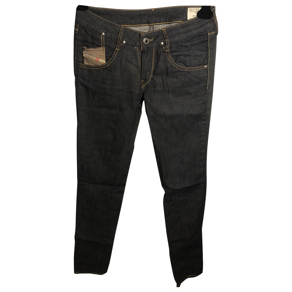 Diesel \N Blue Cotton - elasthane Jeans for Women 28 US
