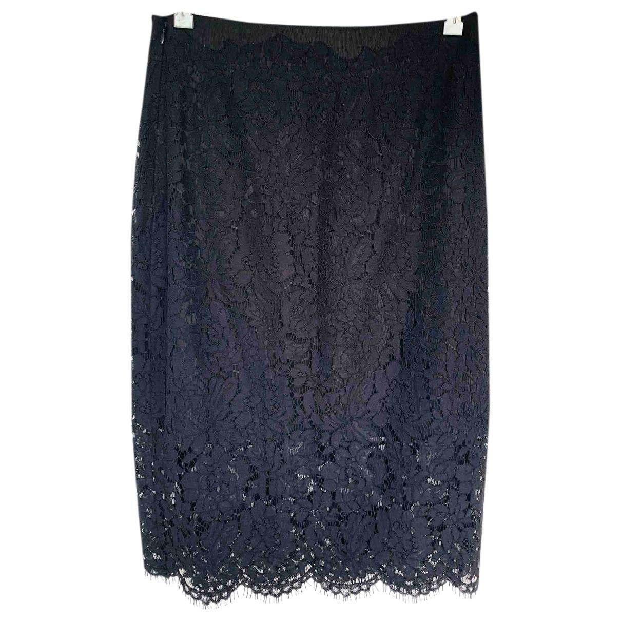 Diane Von Furstenberg \N Navy Cotton skirt for Women M International