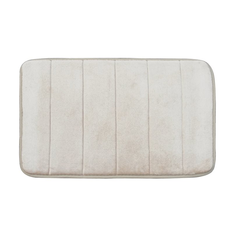 Modern Simple Style Water Absorption Soft and Nonslip Bath Rug Bath Mat 16*24in