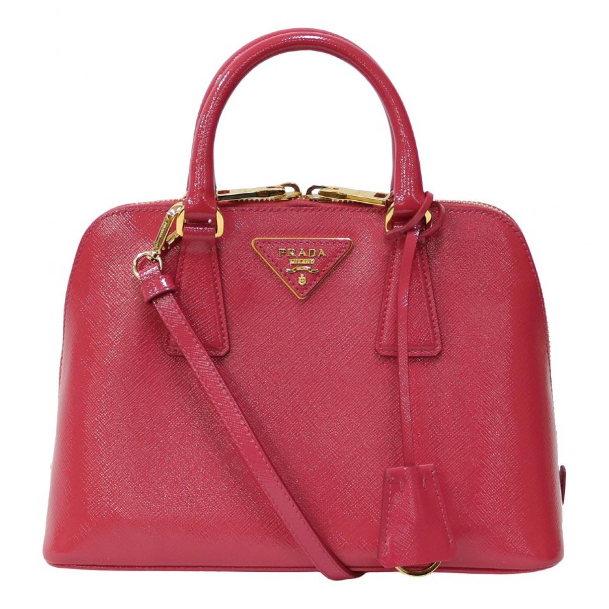 Prada \N Pink Leather handbag for Women \N