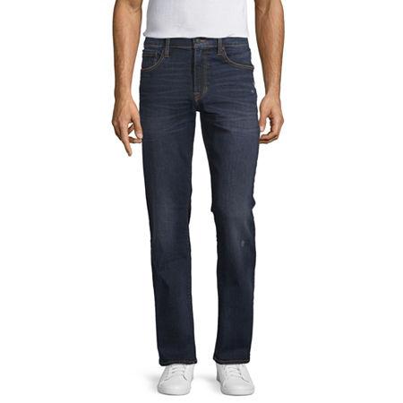 Arizona 360 Advance Flex Denim Mens Bootcut Jean, 34 34, Blue