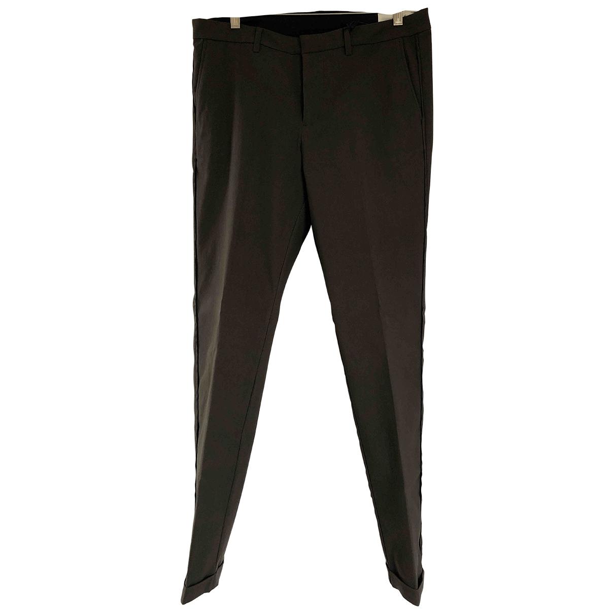 Ikks \N Khaki Trousers for Men 42 FR