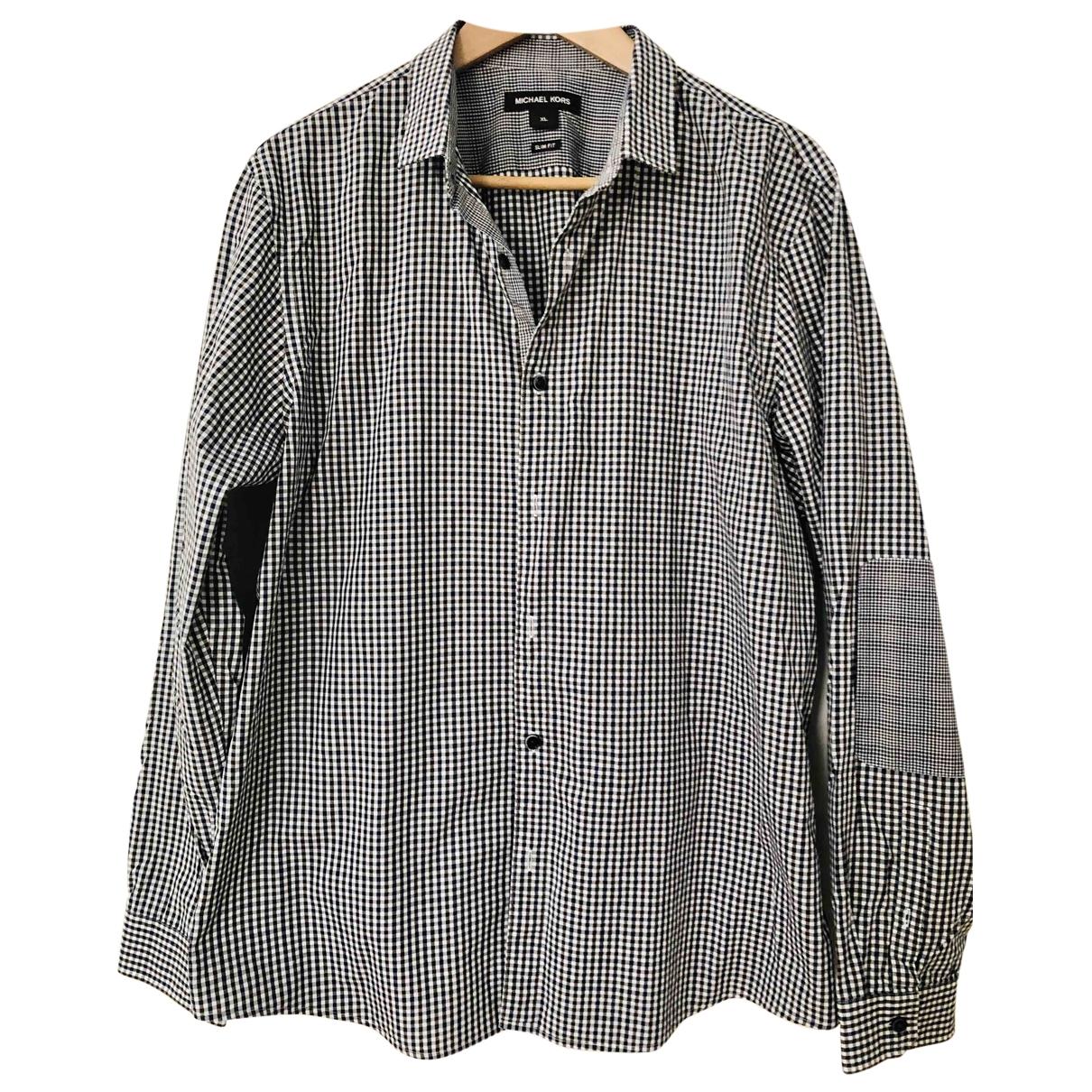 Michael Kors \N Black Cotton Shirts for Men XL International