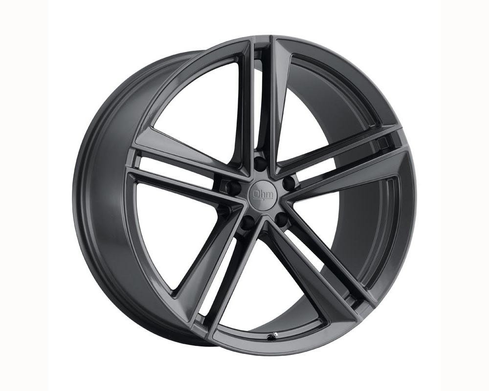 Ohm Lightning Wheel 19x8.5 5x120 30 Gloss Gunmetal