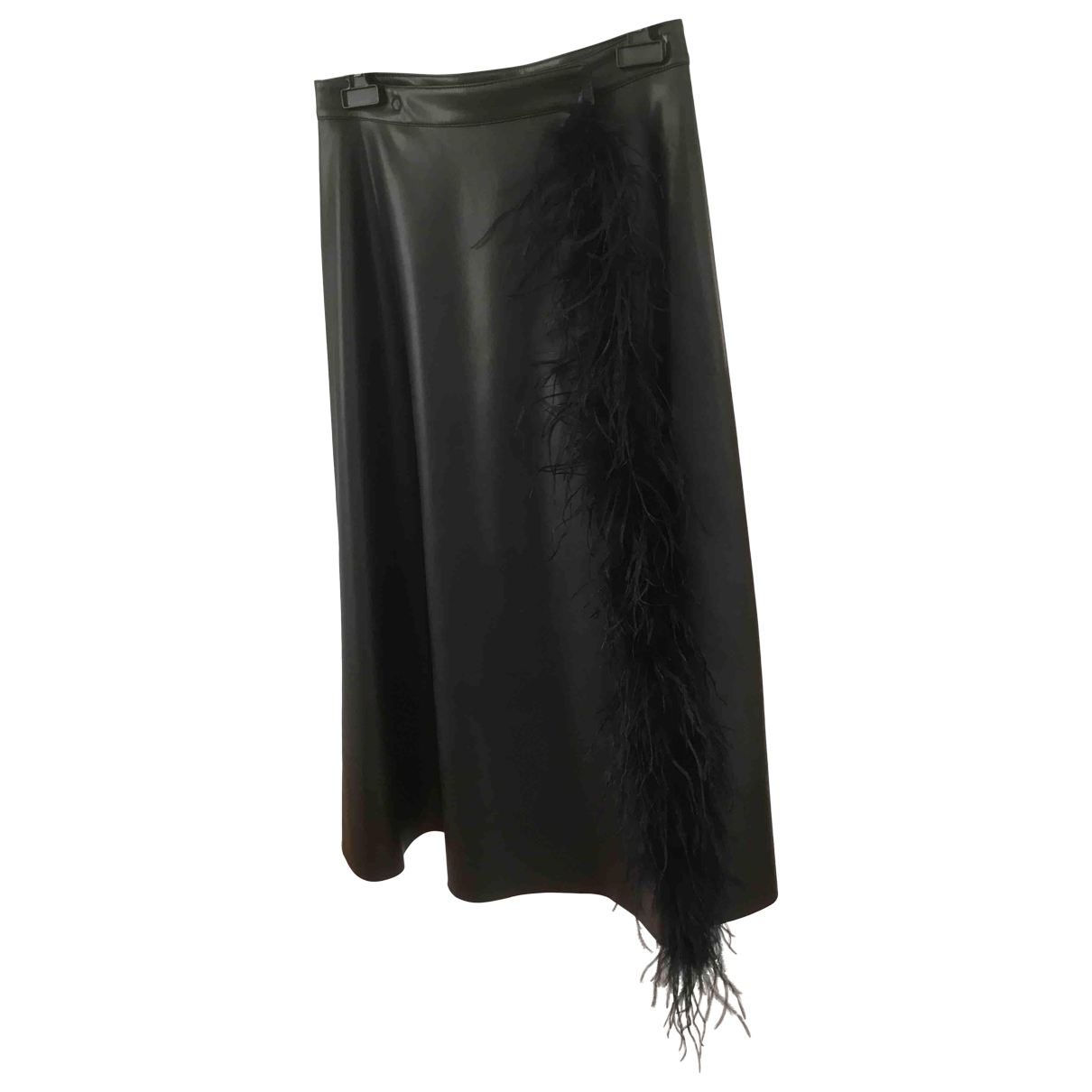 Non Signé / Unsigned \N Black skirt for Women M International