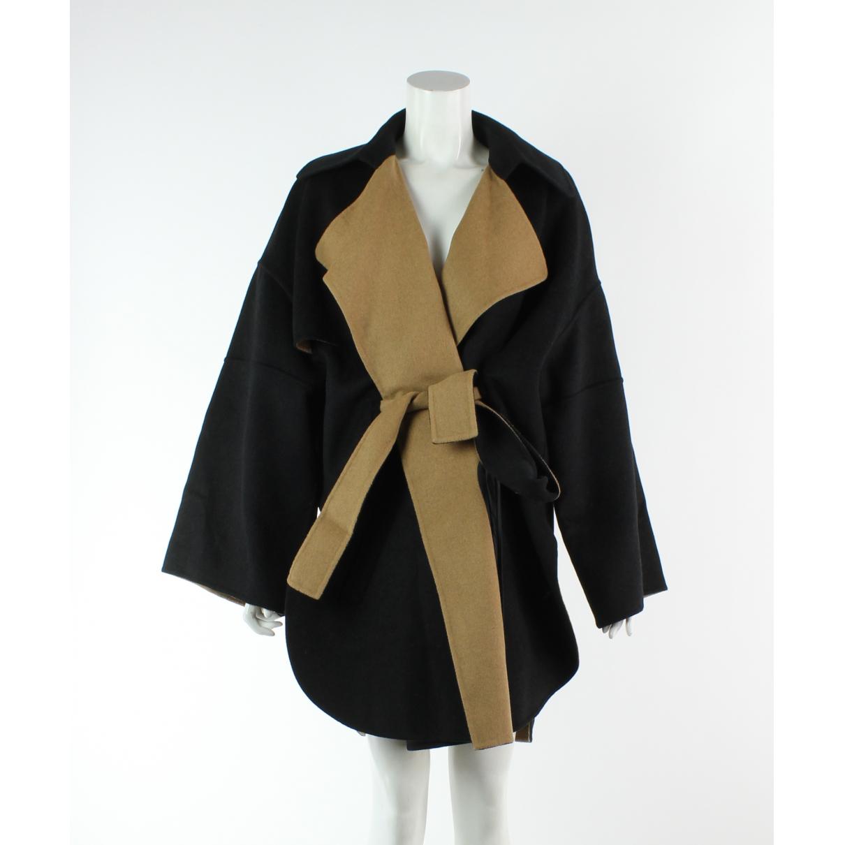 Barbara Bui \N Black Wool coat for Women 38 FR