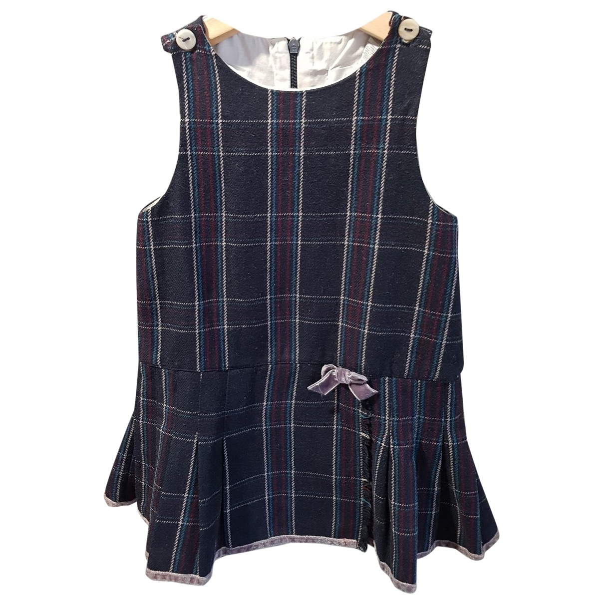 Jacadi \N Navy Wool dress for Kids 3 years - up to 98cm FR