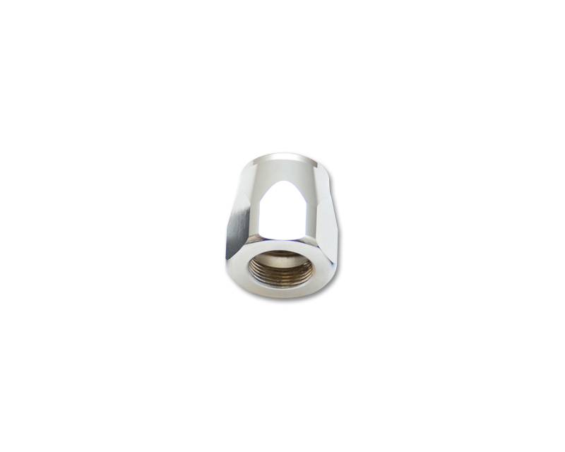 Vibrant Performance 20954S Anodized Silver -4AN Hose End Socket